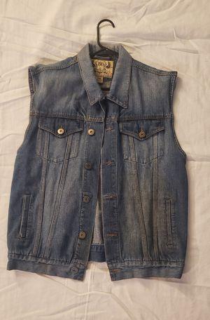Jean vest for Sale in DEVORE HGHTS, CA