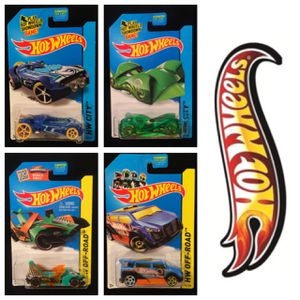 Hot Wheels Treasure Hunt Lot Of 4 • Rocketfire • Speedbox • Cloak And Dagger • Jet Threat 3.0 for Sale in Keller, TX