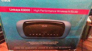 Linksys new E3000 for Sale in Modesto, CA