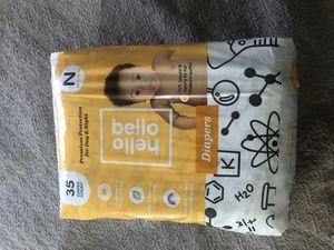 Hello Bello Newborn Diapers for Sale in Riverside, CA