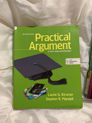 Practical argument textbook for Sale in Burtonsville, MD