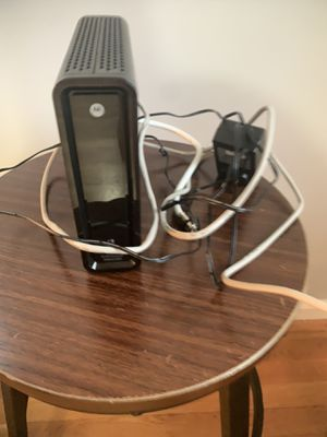 Motorola Modem & Router SURFboard for Sale in Alexandria, VA