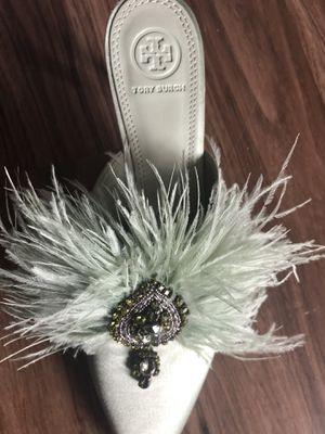 Tory Burch slip on heels, size 9 for Sale in Kirkland, WA
