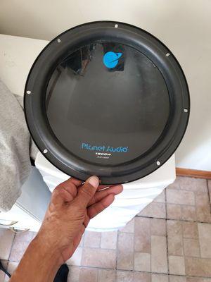 Planet audio 12 inch 1800 watt for Sale in Van Wert, OH