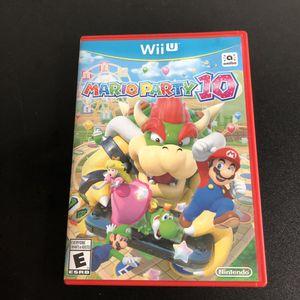 Mario party 10 Wii U for Sale in Phoenix, AZ