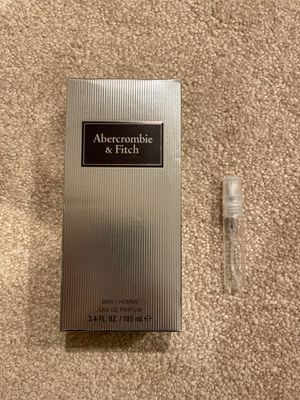 Abercrombie & fitch - first instinct extreme for Sale in Naperville, IL