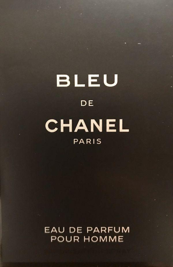 Chanel - Bleu de Chanel sample set