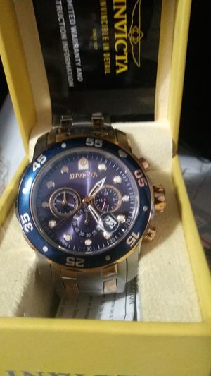 New Invicta Watch With Box (Divers Watch) for Sale in Wenatchee, WA
