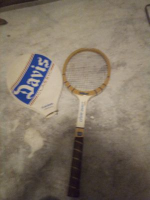 Pristine chris evert laminated Wilson tennis racket with case for Sale in Austin, TX