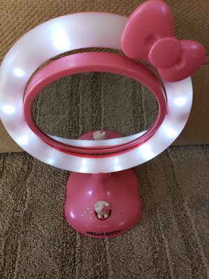 Hello kitty double sided light up mirror for Sale in Downey, CA