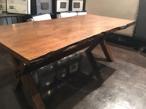 New live edge coffee table solid wood coffee table for Sale in Durham, NC