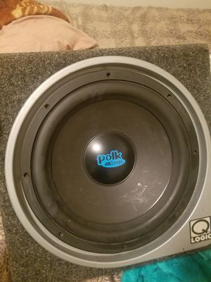 Polk dX Series 12 inch sub for Sale in Parlier, CA
