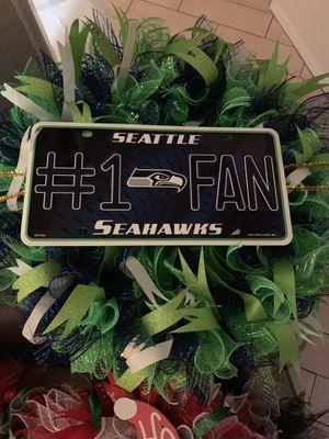 Seattle Seahawks Wreath for Sale in Avondale, AZ