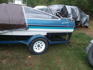 98 bayliner cobra bad motor good parts good trailer tittle for boat and trailer for Sale in Woodbridge, VA