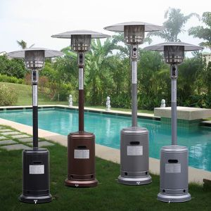 1 Garden Propane Standing LP Gas Steel Heater Patio Deck Pool Area Outdoor Activities Heat Pick a Color SHIPPING ONLY for Sale in Fremont, CA