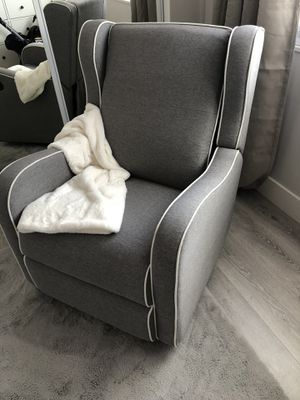 Grey Rocking chair, gliding recliner for Sale in Sacramento, CA