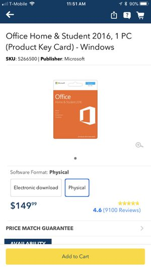 Microsoft Office Lifetime for APPLE MAC and WINDOWS PC for Sale in San Diego, CA