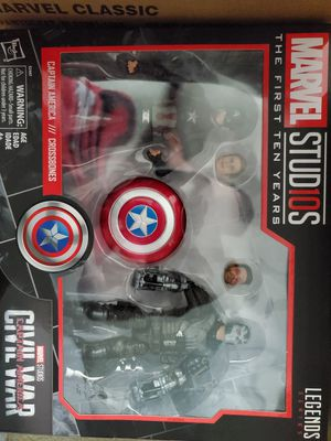 Marvel Legends Captain America and Crossbones for Sale in Fresno, CA