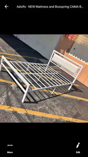 New metal bed frame twin size for Sale in Torrance, CA
