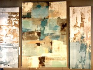 Abstract Canvas Decor 3 Pieces for Sale in Middletown, NJ