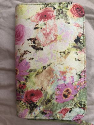 Hobo Floral Leather Wallet for Sale in Houston, TX