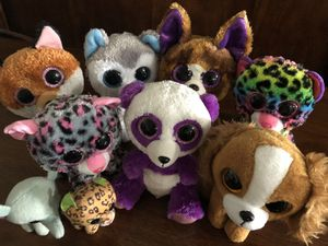 TY Plushies Lot for Sale in New Port Richey, FL
