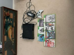 Xbox 360 w/ controller and games for Sale in Fairfax, VA