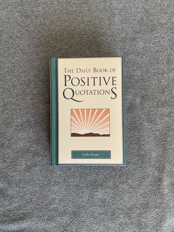 Daily Positive Quotes Book