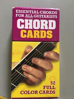 guitar chord cards for Sale in South Salt Lake, UT