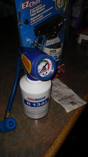 Ac charging hose w gauge for Sale in Houston, TX