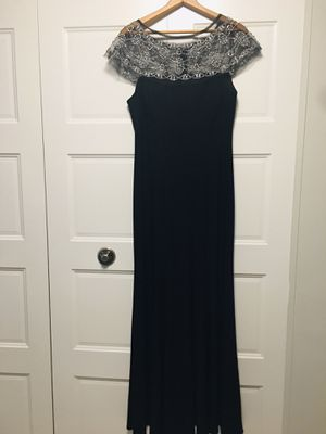 Black dress for wedding for Sale in Chelsea, MA