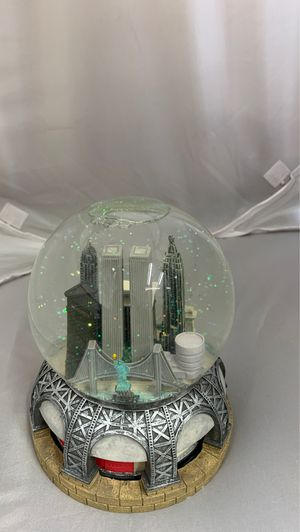 Music playing big snow globe for Sale in East Meadow, NY