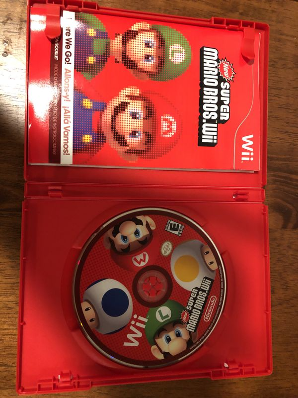 Wii / Wii U Game New Super Mario Bros.