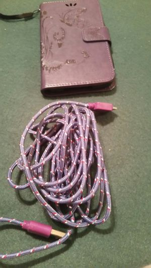 Phone case and charger for a Galaxy S5 for Sale in Madison Heights, VA