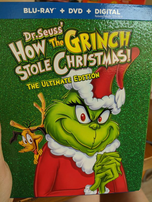 How the Grinch Stole Christmas bluray SEALED