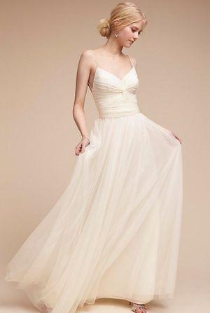 ANTHROPOLOGIE / BHDN Ivory wedding dress for Sale in Miami, FL