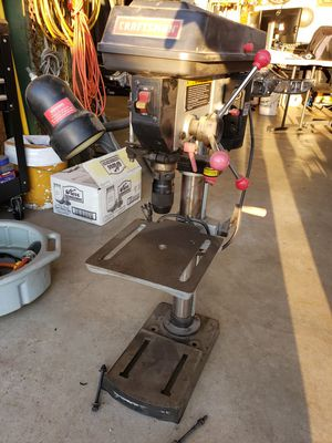"""Craftsman 12"""" drill press for Sale in Roy, WA"""
