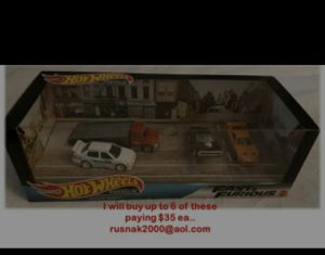 Hot Wheels Fast & Furious set READ for Sale in Irwindale, CA
