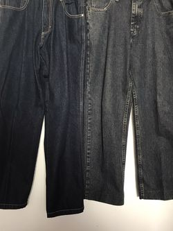 Like New Pants Lee Brand Size 34-30 South Pole Size 30-32 Both For $20 for Sale in Reedley,  CA