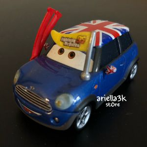 Super Rare Disney Pixar Cars Toy Racing Lightning McQueen 95 Fan British England NEW! With out card! It was never exposed! for Sale in Kissimmee, FL