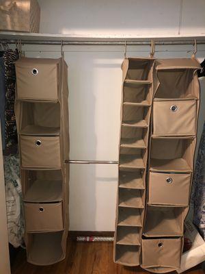 Closet Organizer Shelving for Sale in Chicago, IL