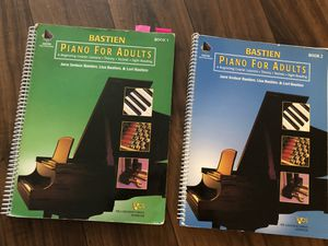 Bastien Piano for Adults 1 and 2. SWC music class for Sale in Chula Vista, CA