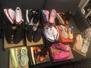 Size 10-11 Jordan 1 adidas yeezy reflective Nike off white Kyrie Jordan size 4 for Sale in Bellevue, WA