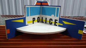 Kids Room Police Wall Decor Corner Shelving for Sale in Orlando, FL