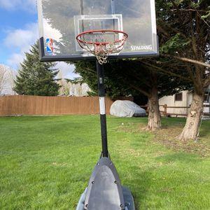 "54"" Spalding Adjustable Basketball Hoop for Sale in Mount Vernon, WA"