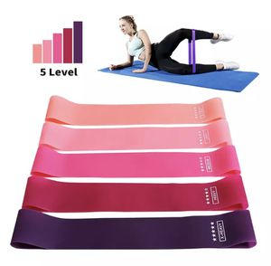 Training Fitness Gum Exercise Gym Strength Resistance Bands Pilates Sport Rubber Fitness Mini Bands Crossfit Workout Equipment for Sale in Las Vegas, NV