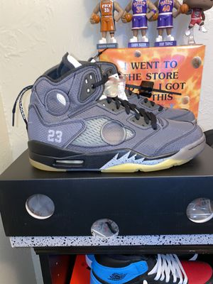 Off-White Jordan 5 Size 9 DS for Sale in Phoenix, AZ