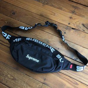 Supreme Waist Bag (FW19) Black for Sale in Highland, MD