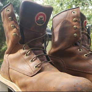 Red Wing: Irish Setter Mesabi Saftey Toe Work Boots: Size 13 for Sale in Waterbury, CT