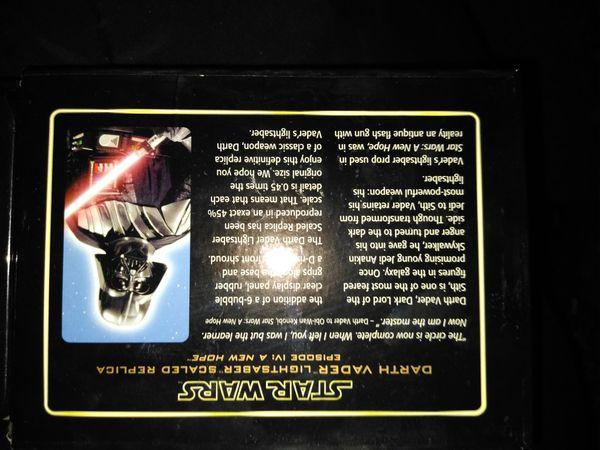 Darth Vader Lightsaber .45 Scaled Replica